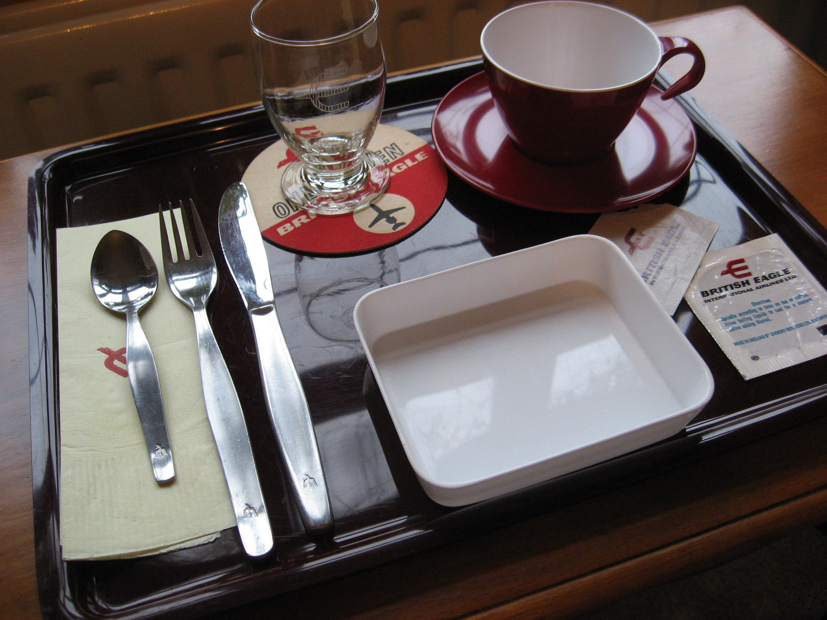 Passenger Meal Tray